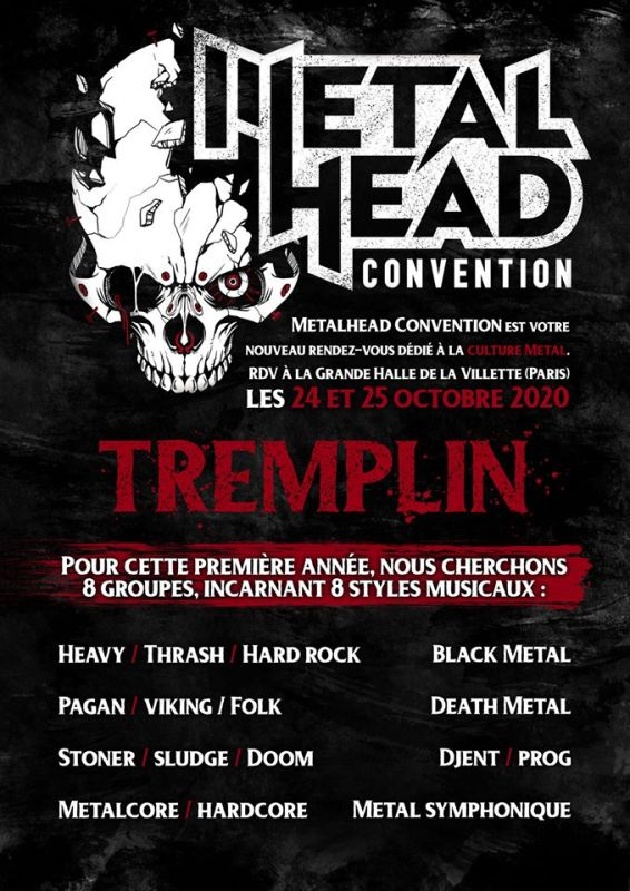 Tremplin Metalhead Convention Paris 2020