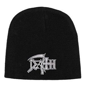 Bonnet Death Logo Blanc