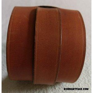 Bracelet Cuir Marron Artisanal
