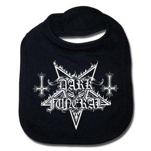 Bavoir Dark Funeral Logo sous licence