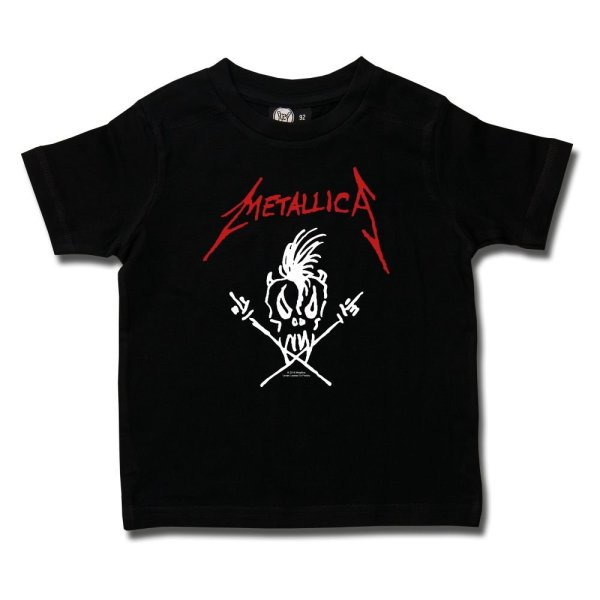 t-shirt enfant metallica scary guy sous licence
