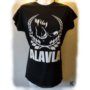 T-shirt Alavla Girly Noir