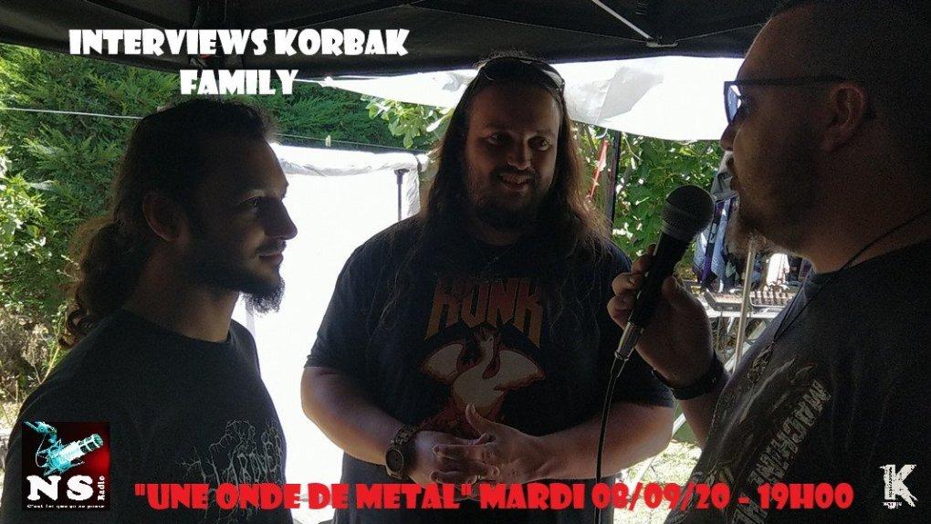 Interviews Korbak Family