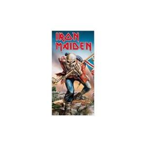serviette iron maiden the trooper