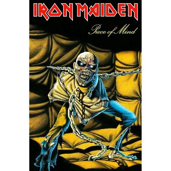 Drapeau Iron Maiden Piece Of Mind