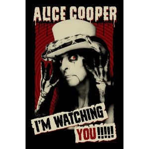Drapeau Alice Cooper I'm Watching You