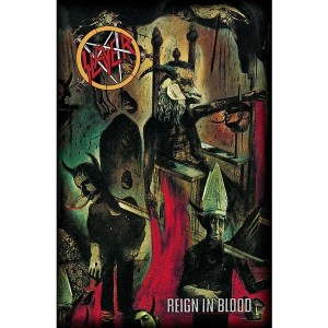 Drapeau Slayer Reign In Blood