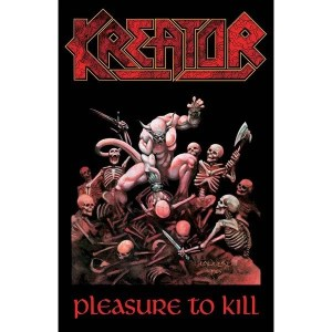 Drapeau Kreator Pleasure To Kill