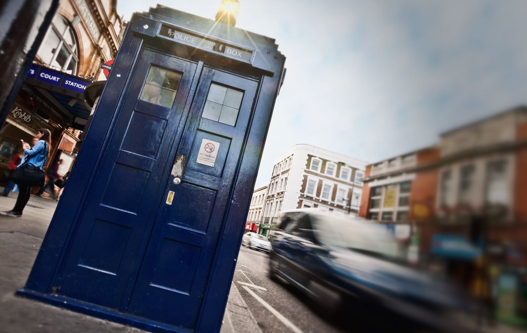 Photo : Tardis in London