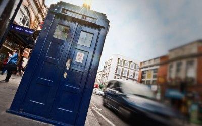 Photo : Tardis in London
