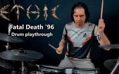 Vidéo : Ethic – Fatal Death '96 – Drum playthrought