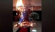 Permalink to Viral, Ingin Buat Kesan Romantis Saat Pernikahan Malah Sebabkan Kebakaran