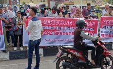 Permalink to Ratusan Masa Beri Dukungan Pada TNI-Polri Berantas Pemecah Belah Bangsa