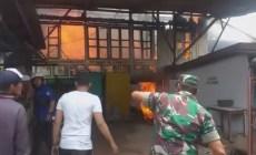 Permalink to Kebakaran Hanguskan Satu Rumah Warga di Panca Usaha Palembang