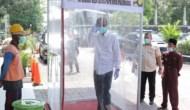 Permalink to Sebelum Masuk Kantor, Pemkot  Palembang Wajibkan Pegawai Masuki Bilik Sterilisasi