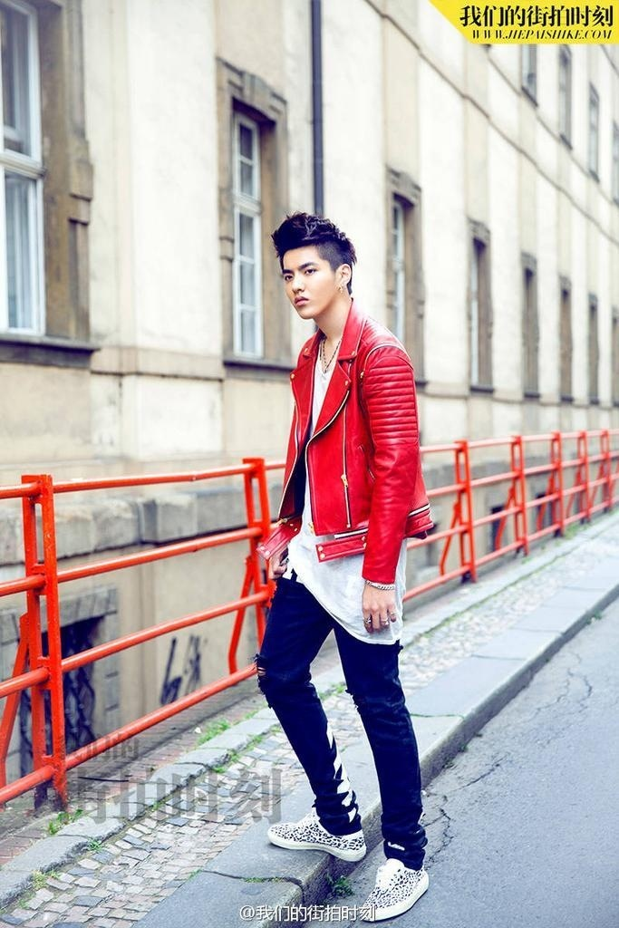 Kris Wu Yifan Poses For Our Street Style