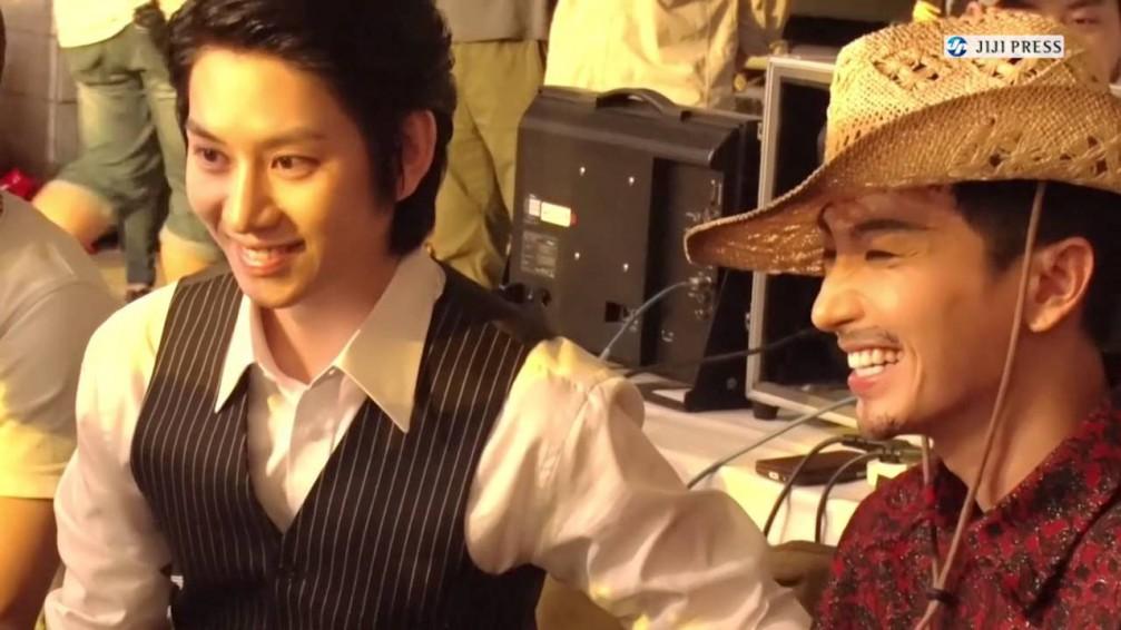 Super Junior - MAMACITA-AYAYA- BTS Jiji Press