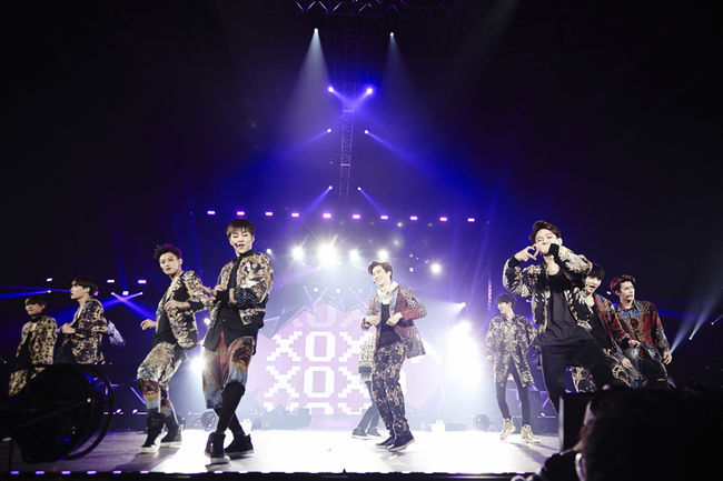 EXO the Lost Planet Osaka via Osen 2