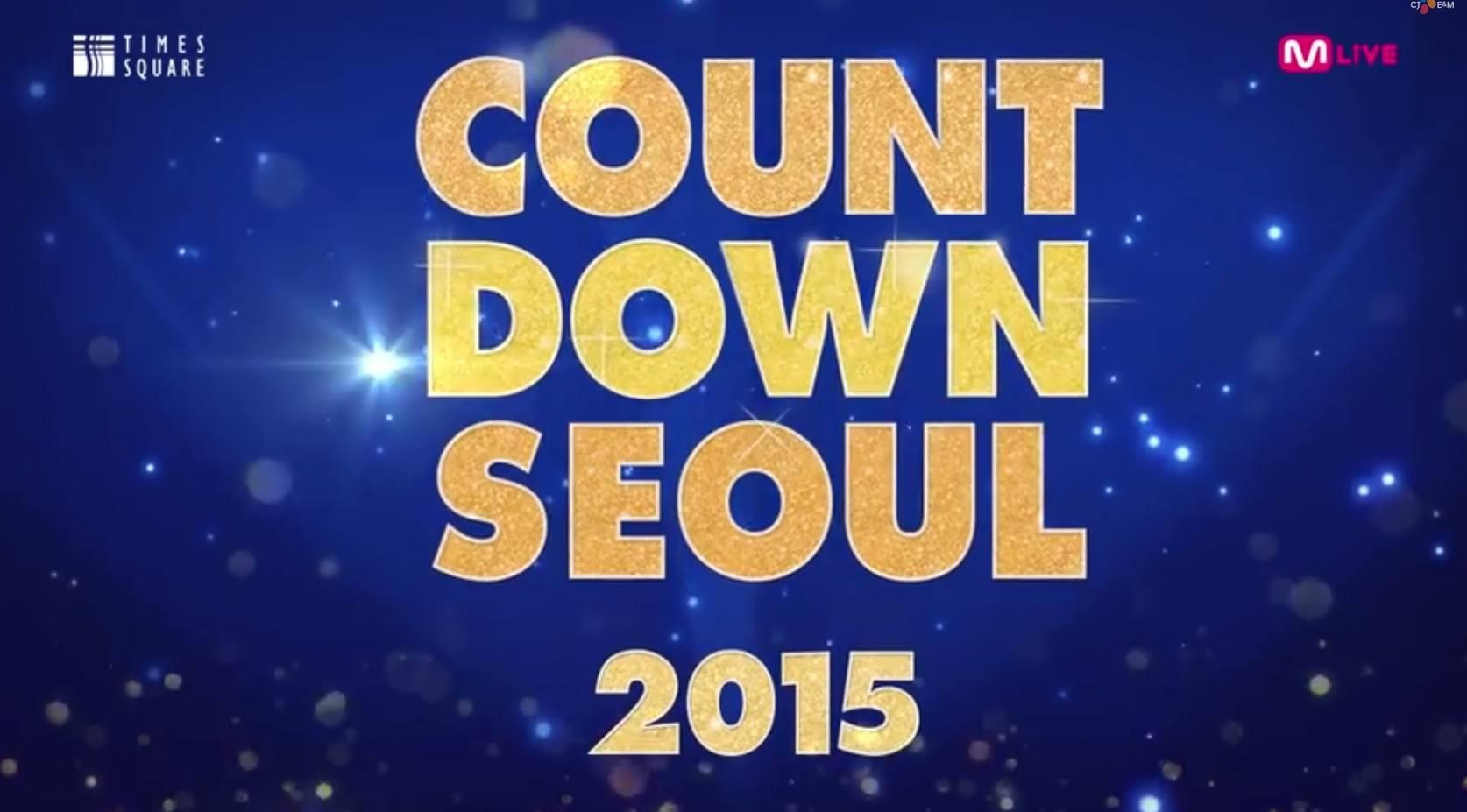 2015 Countdown Seoul Lineup!
