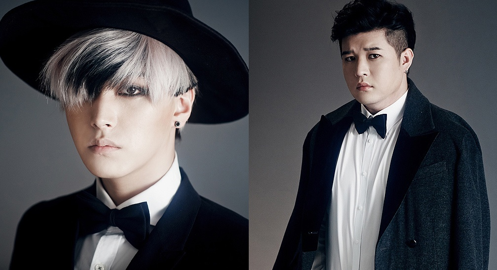 Super Junior Sungmin and Shindong