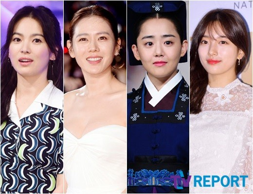 1 Song Hye Kyo Son Ye Jin Moon Geun Young Suzy