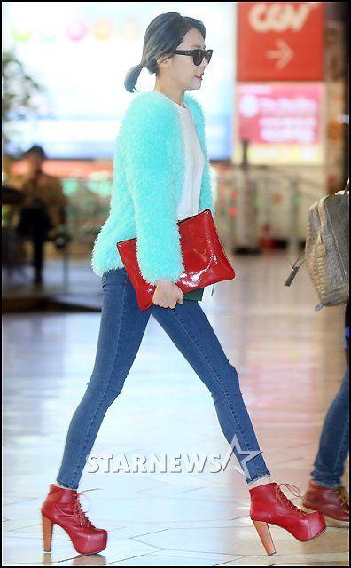 The True Reason Wonder Girls Sunmi Rarely Wears High