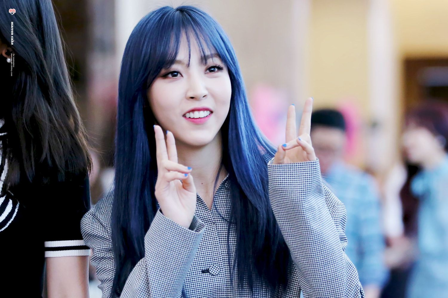 MAMAMOO Moonbyuls New Hair Changes Color Depending On The