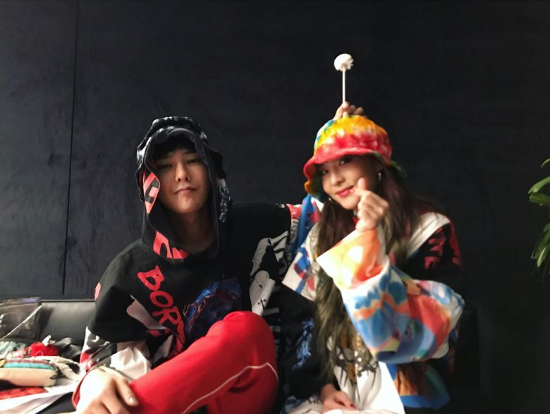 Image result for dara and g dragon