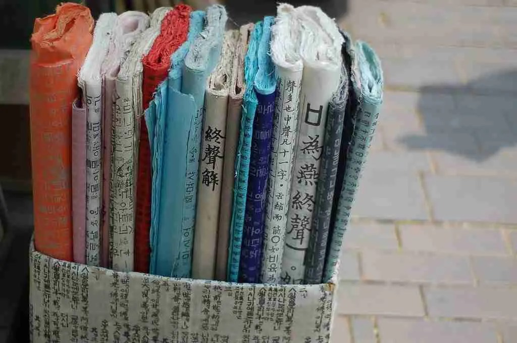 What to buy in Korea? Korean souvenirs: Korean Paper