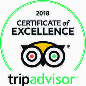 TripAdvisor 2018 Certificate of Excellence Winner