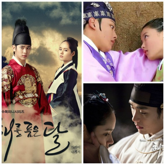 The moon embracing the sun couple