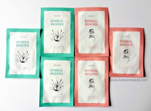 BonVivant Botanical Mask Pack Rose & Aloe Review