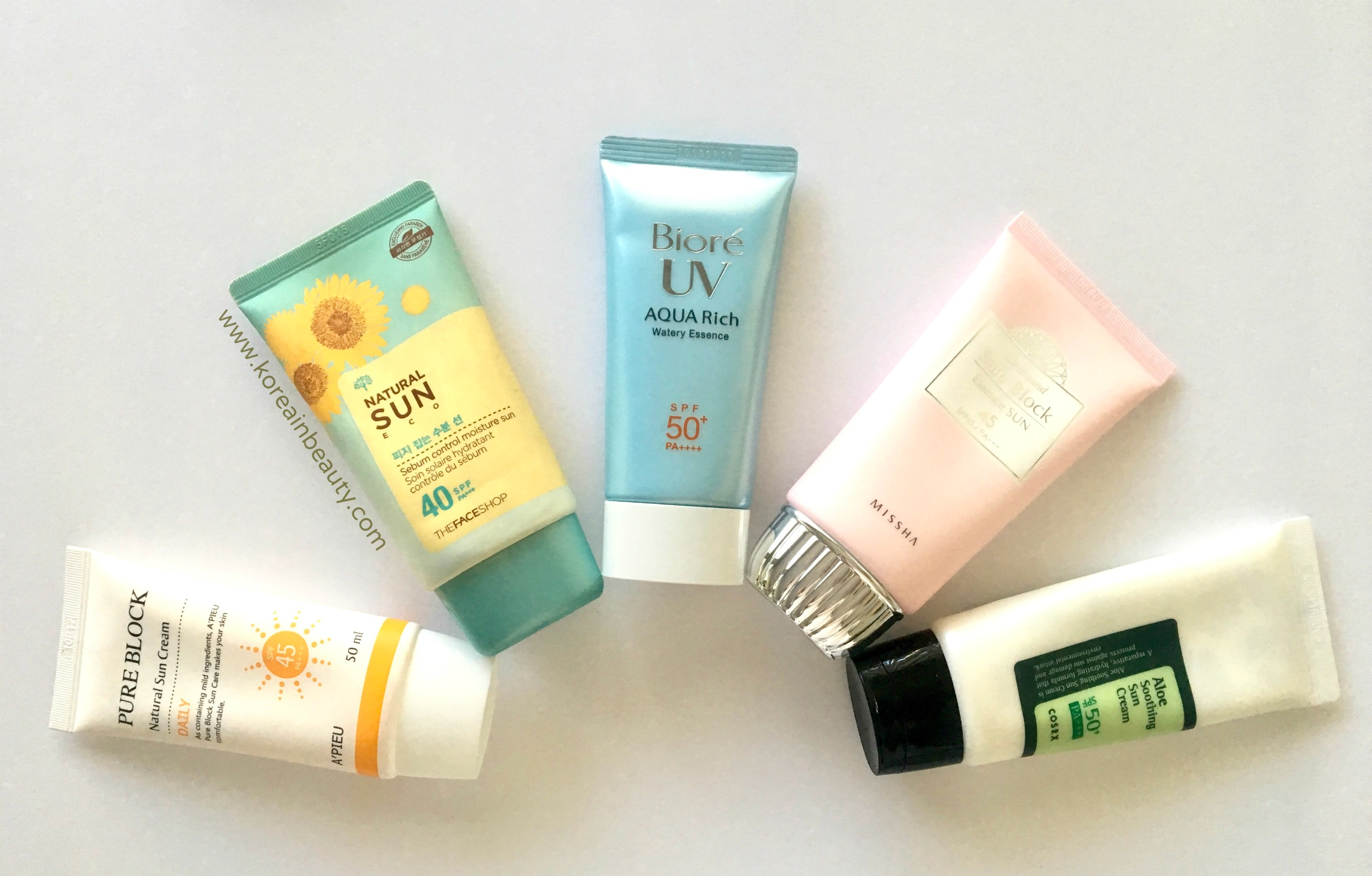 These Korean Sunscreens Will Literally Fix YourSkin