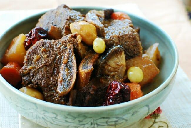 Galbijim recipe - learn how to make Korean braised beef short ribs