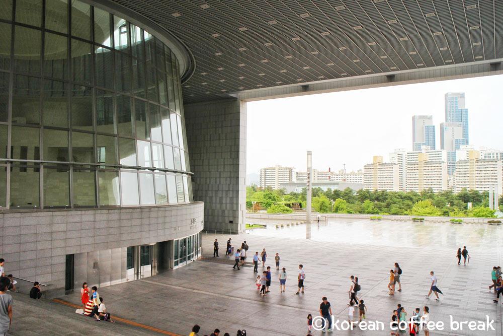 Le musée national de Corée (국립중앙박물관)