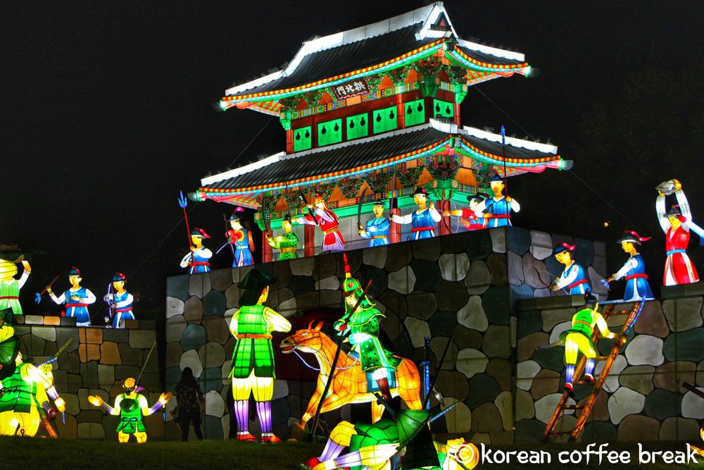 festival des lanternes de Jinju