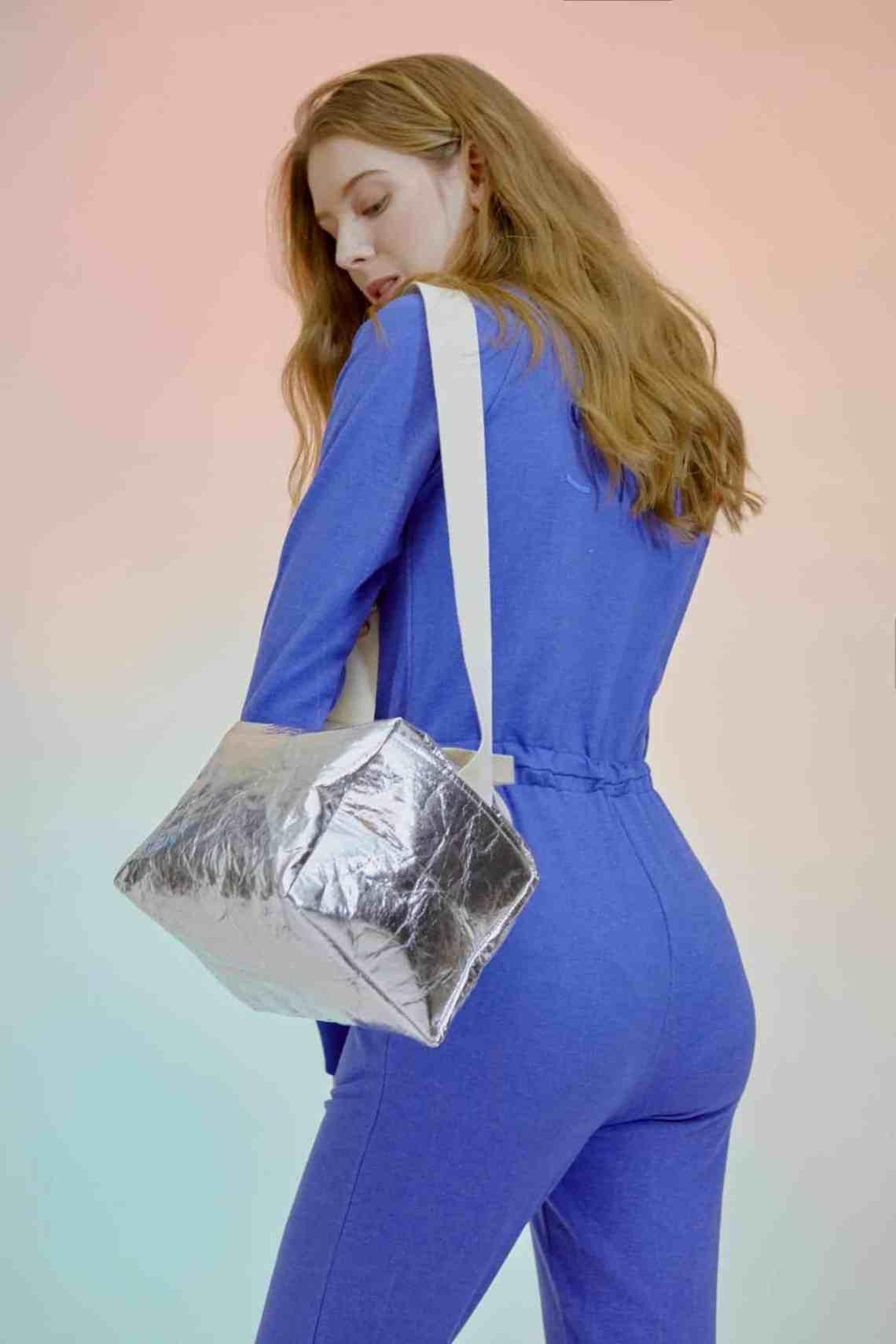 SMK silver Piñatex® bag