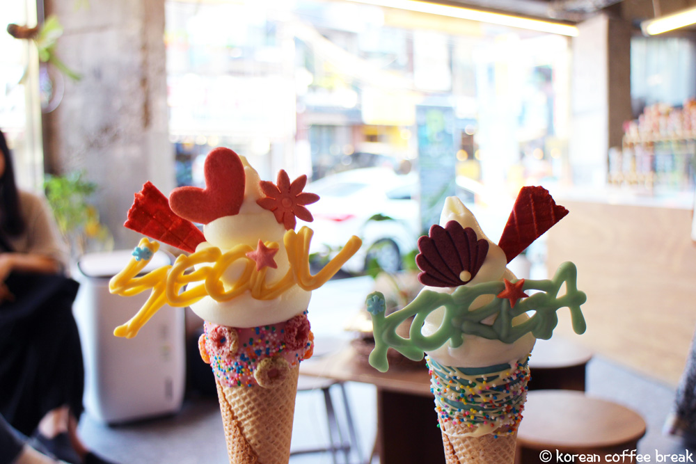 Bistopping Hongdae - les glaces
