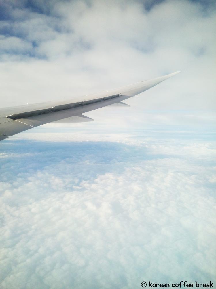 Avion pour Séoul