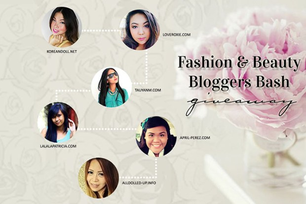 fashion and beauty bloggers bash giveaway