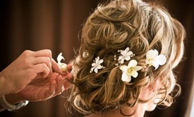 The Secret for Gorgeous Wedding Day Hair