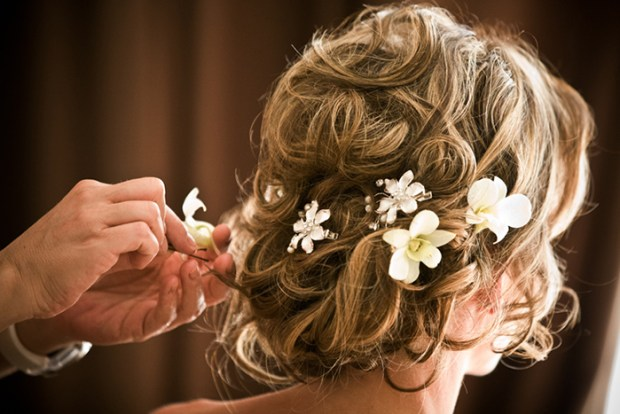 The Secret for Gorgeous Wedding Day Hair