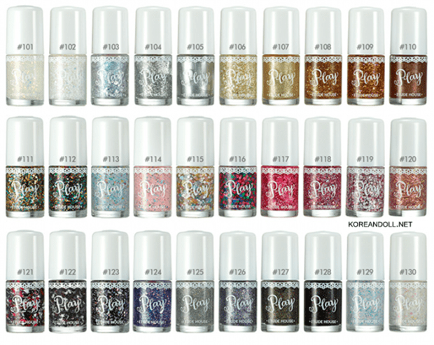Play Etude Nail Polish