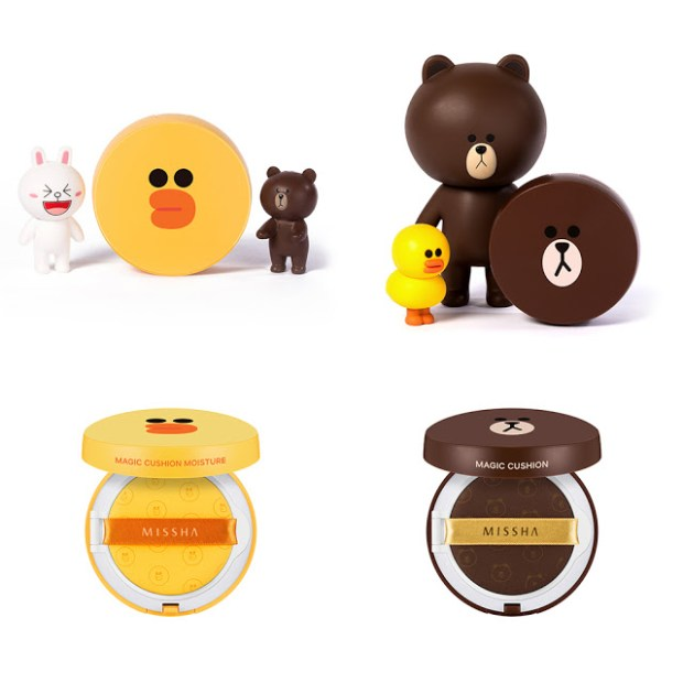 Missha x Line Friends Magic Cushion & Magic Cushion Moisture