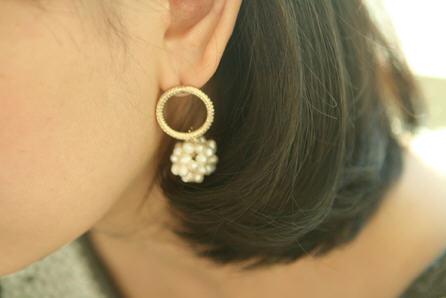 Korean Jewelry With Faux Pearls