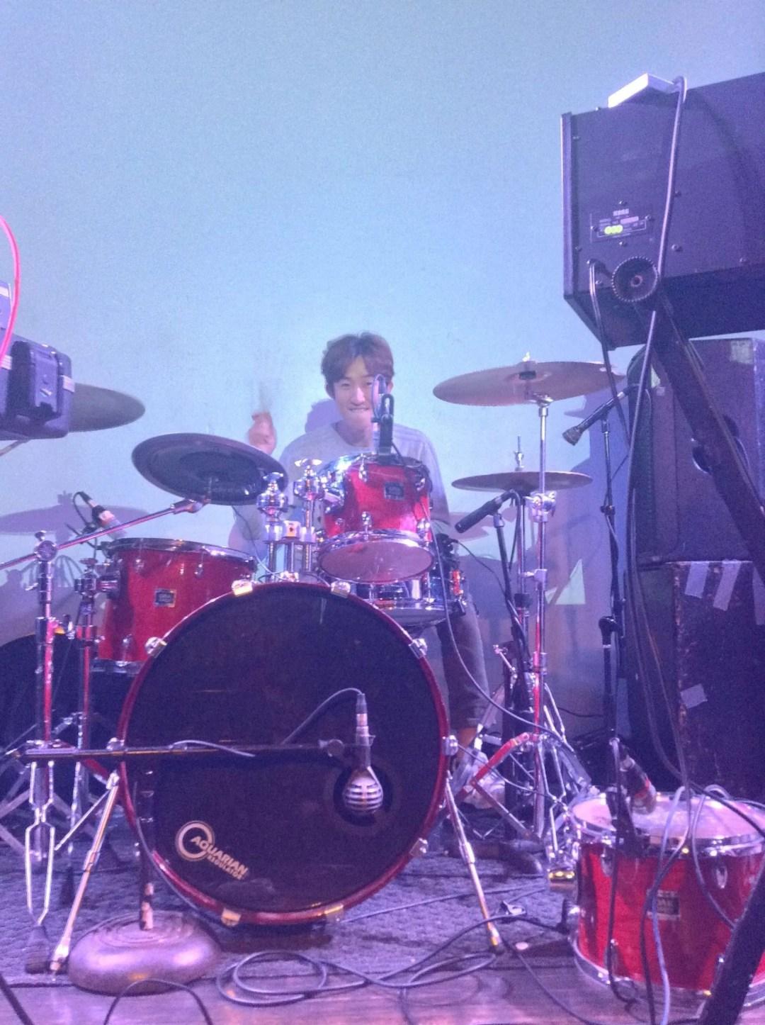 GC drummer Seoulsonic