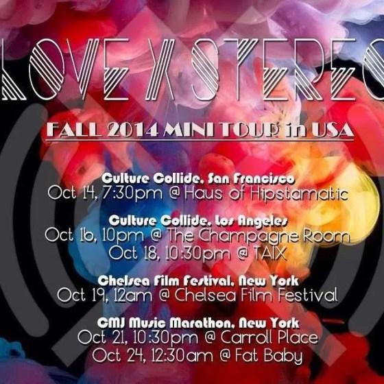love x stereo fall tour