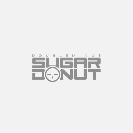 sugar donut double minus