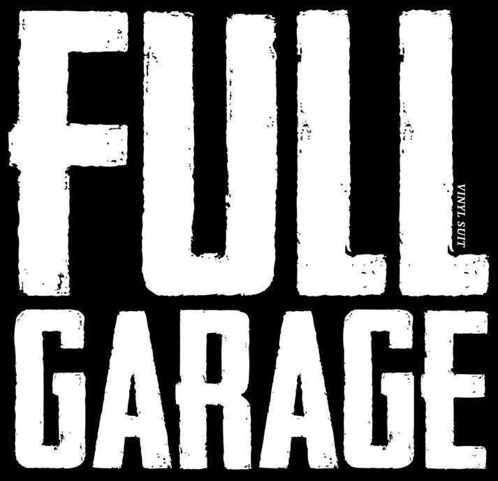 full garage vinyl suit