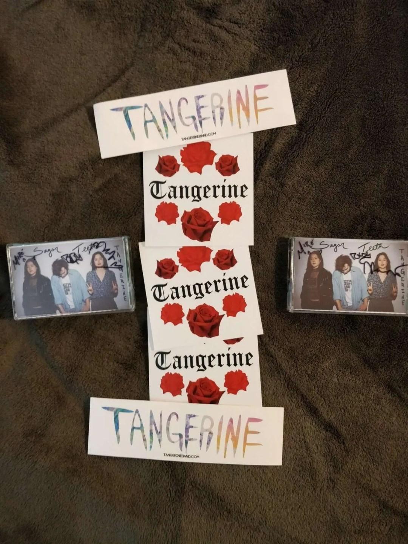 tangerine cassettes